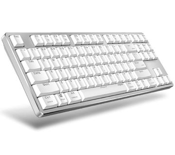 1Rapoo MT500 Backlit Mechanical Keyboard White