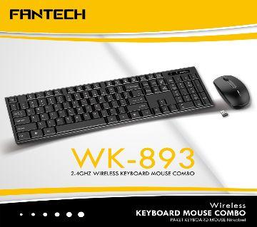 Fantech WK893 Wireless Keyboard Mouse Combo
