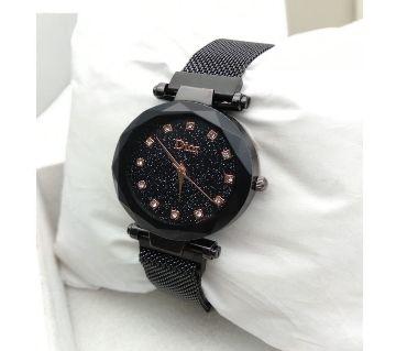 Dior Ladies magnetic wrist Watch  Black13  SFH