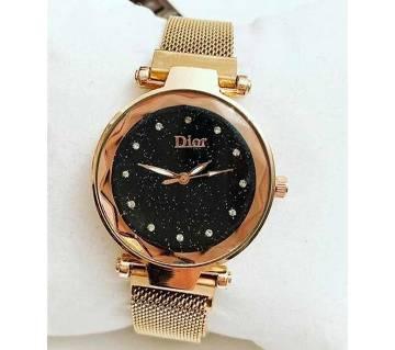 dior Ladies wrist Watch  Golden14  SFH