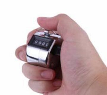 Hand tele counter