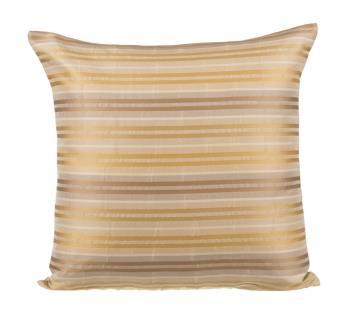 Cream Gold Cushion Cover by Ivoryniche