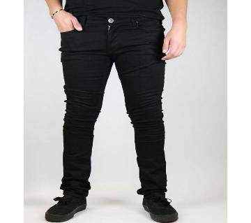 Black Stretch Jeans Pant For Men