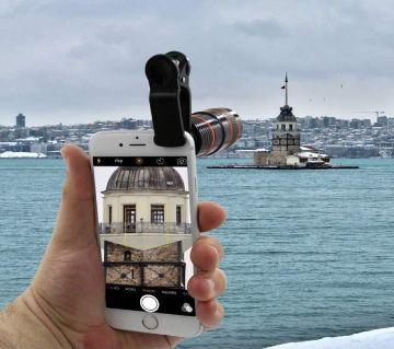 8X Mobile Telescope Zoom Lens