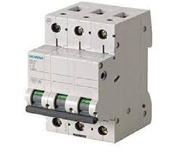 Siemens 10A 3 Pole Miniature Circuit Breaker