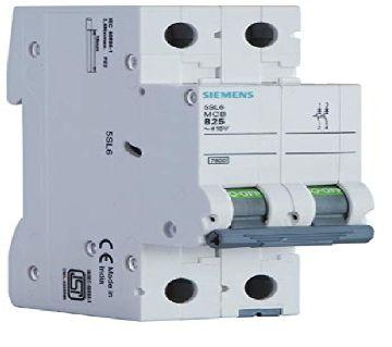 Siemens MCB Double Pole Circuit Breaker 6A
