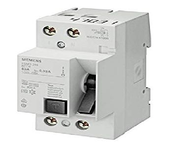 Siemens Plastic 25 Ampere 2 Pole RCCB, [single phase]