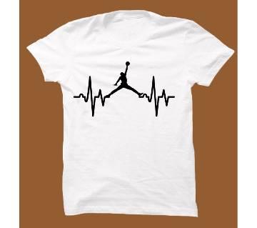 Whaite Cotton Short Sleeve T-Shirt for Men WTS001