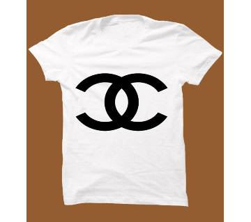White Cotton Short Sleeve T-Shirt for Men WTS004