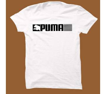 White Cotton Short Sleeve T-Shirt for Men WTS008