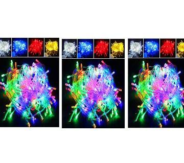 MULTY COLOR LED FAIRY LIHGT STRING - 3 SET