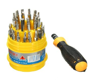 All in One Screw Driver Set for Mobiles and all kinds of device -Metal