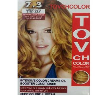TOVCH MEIUM Hair Colour GOLDEN BLONDE-60ML-CHINA
