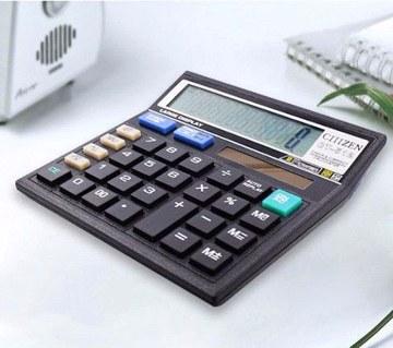 12 digit electronic calculator