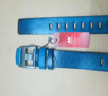 Blue Formal Belt For Men