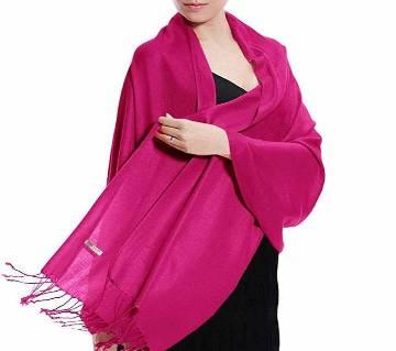 winter shwal Hot Pink
