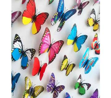 Butter Fly Wall Sticker - 12 piece