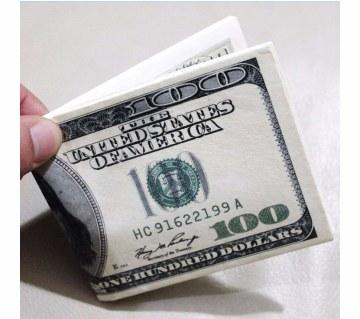 Unisex dollar wallet