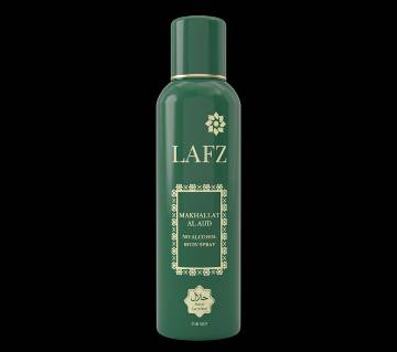 Lafz Alcohol Free Body Spray for men  Makhallat Al Aud 100gm
