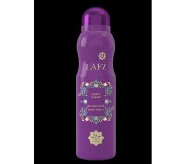No Alcohol Body Spray Zoha Sadaf 100 gm (BD)