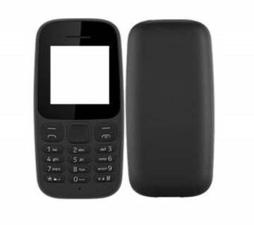 Full Body Casing For Nokia 105(2017)- Black