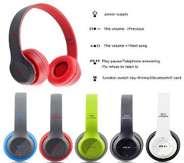 P47 Wireless Bluetooth Headphone Copy