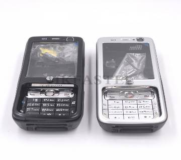 Mobile Casing With English Keypad For Nokia N73