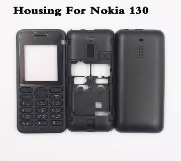 Mobile Casing With English Keypad For Nokia asha 130