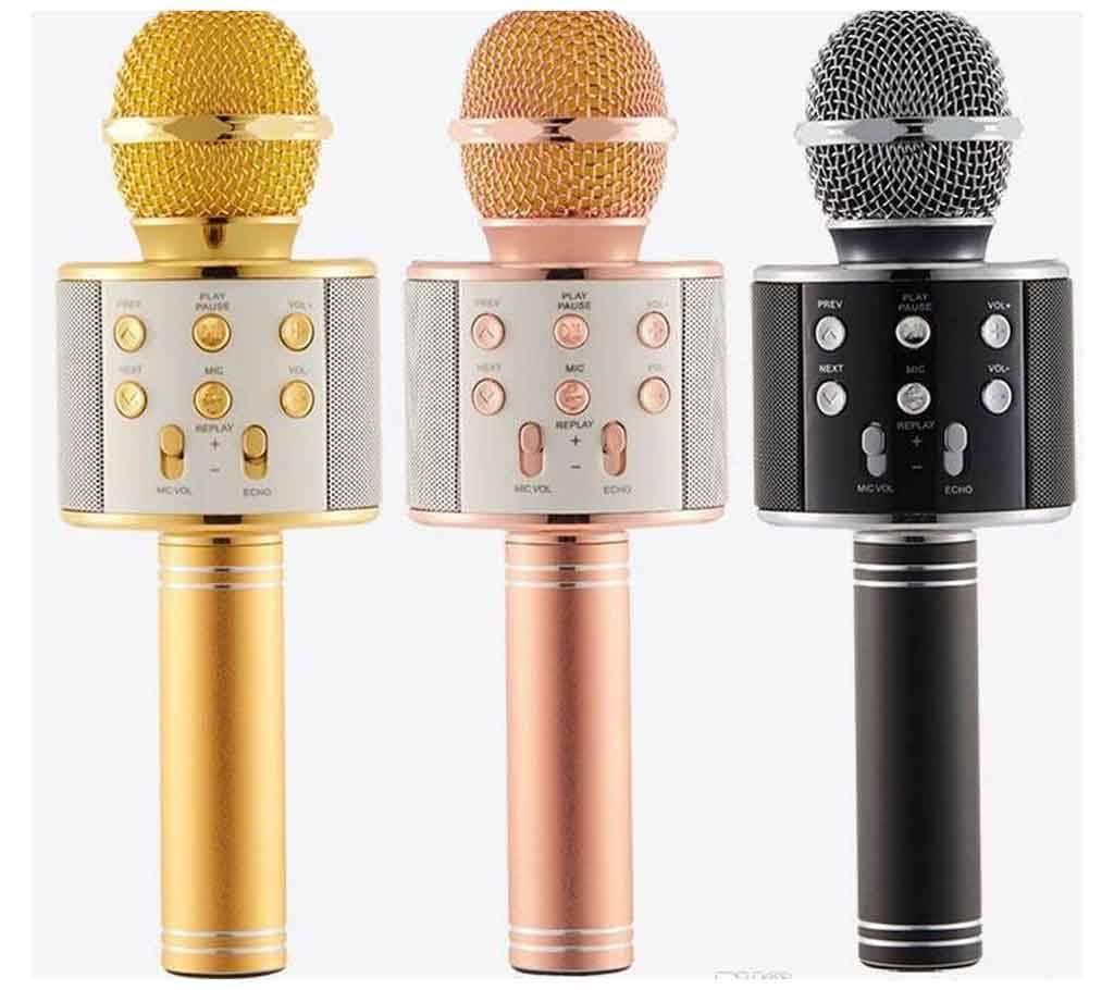 WS-858 Bluetooth HI-FI Karaoke মাইক্রোফোন - ১টি বাংলাদেশ - 1121182