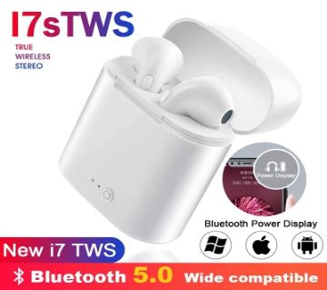 i7S TWS Earphones Dual Wireless Bluetooth Earbuds for iPhone & Android