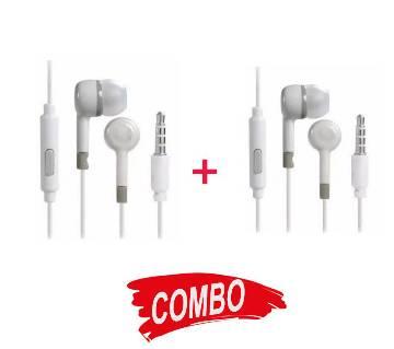 In-Ear Earphone - White Copy