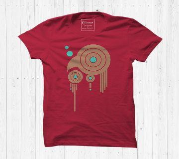 Bird T shirt Cotton Half Sleeve T Shirt For Men