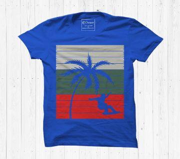 Coconut T shirt Cotton Half Sleeve T Shirt For Men
