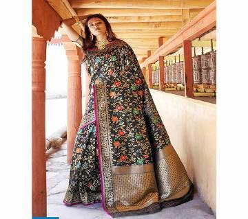 Rajtex Kunika Soft Minari Silk Saree