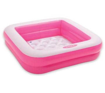 Intex Baby Bath Tub Square Pink