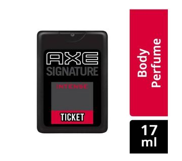 AXE SIGNATURE TICKET PERFUME-India-17ml