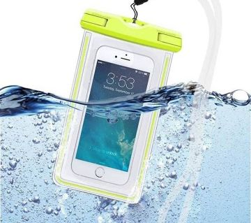 WATERPROOF MOBILE POUCH BAG - (MULTICOLOUR).