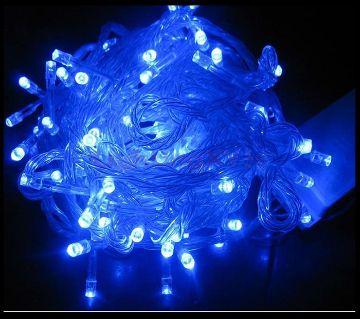 DECORATIVE FAIRY LIGHTS - 100 LED - BLUE COLOUR