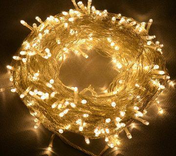 FAIRY DECORATIVE LIGHTS 100 LED - GOLDEN
