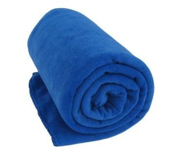 MICROFIBER BED ব্ল্যাঙ্কেট BLUE