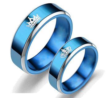 COUPLE FINGER RING - BLUE
