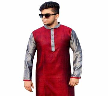 Semi Long Cotton Punjabi
