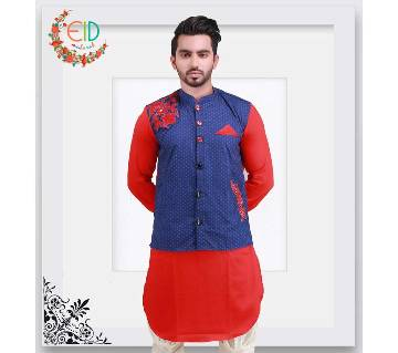 Embroidery Cut Punjabi with Koti