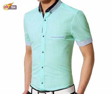 half sleeve gents casual shirt
