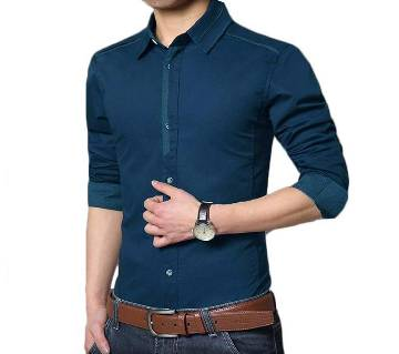 Full sleeve gents casual shirt
