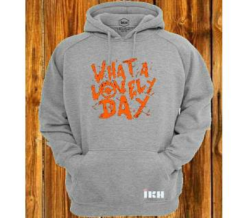 What A Lovely Day Ash Super Hoodie