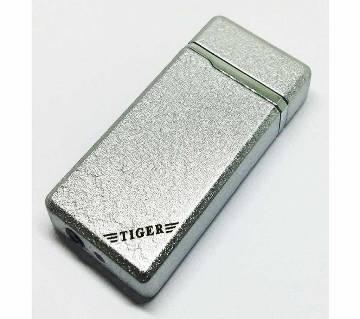 Tiger Silver Metal Lighter