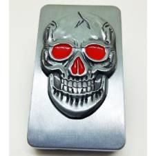 Skull Metal Gas Lighter