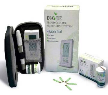 DIAVUE Prudential blood glucose monitor machine