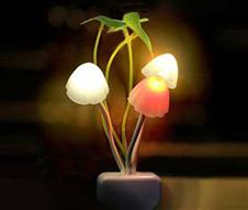 LED Night Glowing Mashroom Light